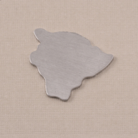 Aluminum Hawaii (Big Island) State Blank, 18g