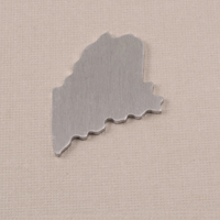 Aluminum Maine State Blank, 18g