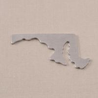 Aluminum Maryland State Blank, 18g
