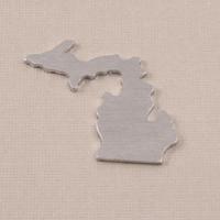 Aluminum Michigan State Blank, 18g