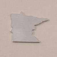 Aluminum Minnesota State Blank, 18g
