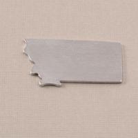Aluminum Montana State Blank, 18g