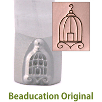 Birdcage Design Stamp - Beaducation Original