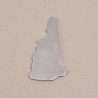 Aluminum New Hamphire State Blank, 18g
