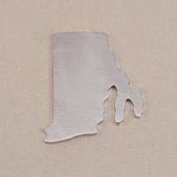Aluminum Rhode Island State Blank, 18g