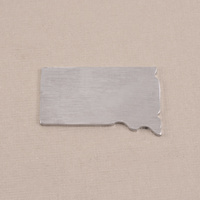 Aluminum South Dakota State Blank, 18g