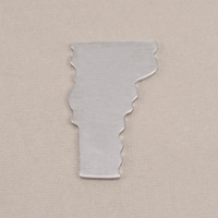 Aluminum Vermont State Blank, 18g