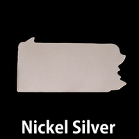 Nickel Silver Pennsylvania State Blank, 24g
