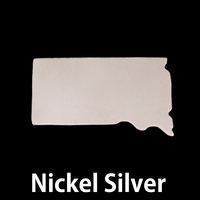 Nickel Silver South Dakota State Blank, 24g