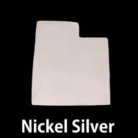 Nickel Silver Utah State Blank, 24g