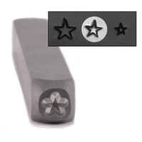 "Star Design Stamp - 3/32"" (2.4mm)"