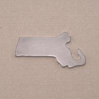 Aluminum Massachusetts State Blank, 18g