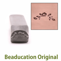 Magnolia Branch Border Stamp-Beaducation Original