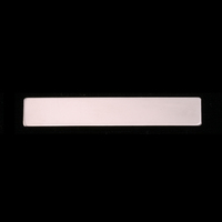 "Sterling Silver 1.5"" Rectangle, 20g"