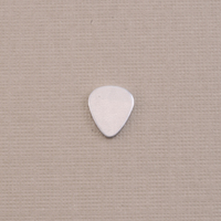 "Aluminum Smallest ""Guitar Pick"" Blank, 24g"