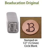 "Kismet Letter ""B"" 7mm - Beaducation Original"