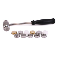 Texture Hammer with 12 Interchangeable Faces