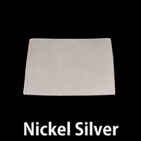 Nickel Silver Colorado/Wyoming State Blank, 24g