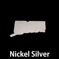 Nickel Silver Connecticut State Blank, 24g