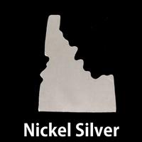 Nickel Silver Idaho State Blank, 24g