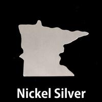 Nickel Silver Minnesota State Blank, 24g