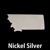Nickel Silver Montana State Blank, 24g