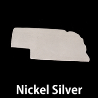 Nickel Silver Nebraska State Blank, 24g