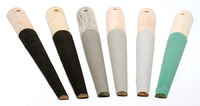 Half Round Sanding Sticks, Set of 6