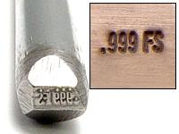 .999FS Design Stamp