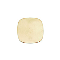 Brass Small Rounded Square, 24g