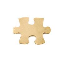 Brass Puzzle Piece, 24g