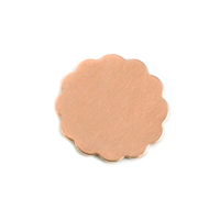 Copper Medium 12 Petal Flower, 24g