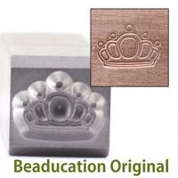 Queen's Crown Design Stamp-Beaducation Original