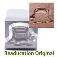 Tree Stump Design Stamp-Beaducation Original