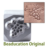 Bunch of Grapes Design Stamp-Beaducation Original