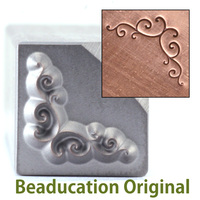 Spiral Bracket Design Stamp-Beaducation Original