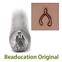 Large Wishbone Design Stamp (8mm)- Beaducation Original
