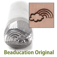 Rainbow and Cloud Design Stamp- Beaducation Original