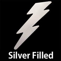 Silver Filled Lightning Bolt, 24g