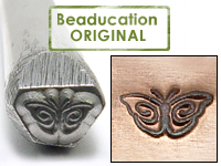 Butterfly Design Stamp- Beaducation Original