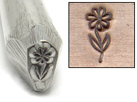 Flower Design Stamp