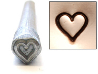 Heart Design Stamp