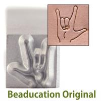 "ASL ""I Love You"" Sign Design Stamp-Beaducation Original"
