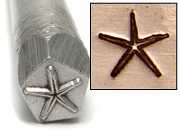 Starfish Design Stamp