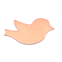Copper Winged Bird Blank, 24g