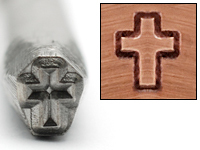 Cross Design Stamp