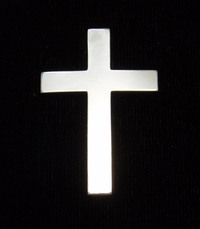 Sterling Silver Cross, 24g