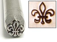 Fleur de Lis Design Stamp