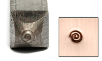 Teeny Tiny Spiral Design Stamp