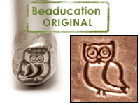 Owl Design Stamp-Beaducation Original